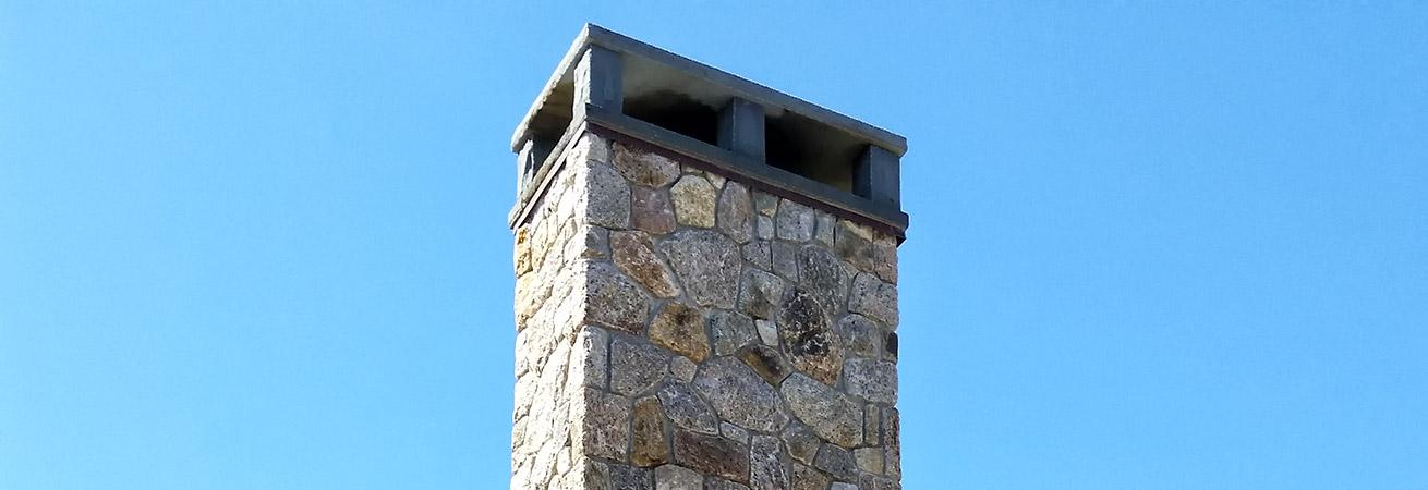 Stone Chimney Cap Designs : Chimneys new england stoneworks chatham ma